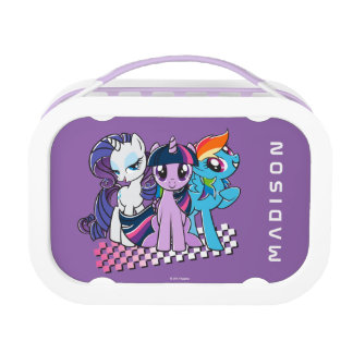 Rollin' with the Ponies Lunch Box