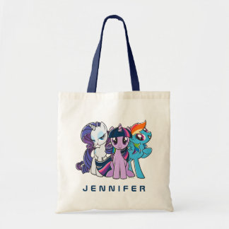 Rollin' with the Ponies Tote Bag
