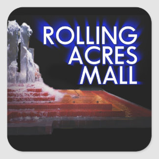 Rolling Acres Mall Square Sticker