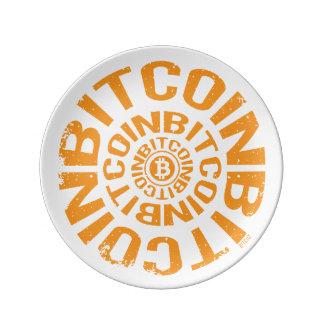 Rolling Bitcoin - Orange Plate