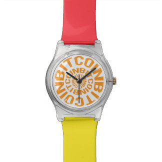 Rolling Bitcoin - Orange Watch