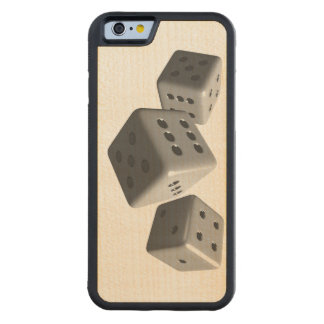 Rolling Dice Carved® Maple iPhone 6 Bumper