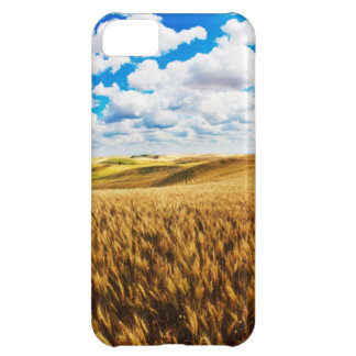 Rolling hills of ripe wheat cover for iPhone 5C