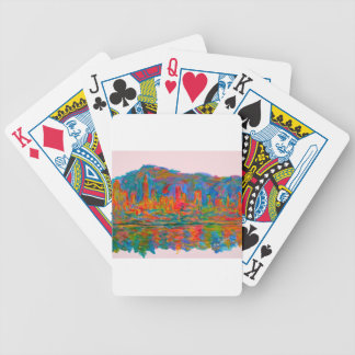 Rolling on New York Bicycle Playing Cards