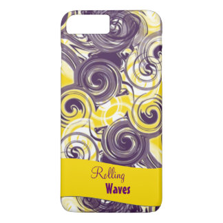 Rolling Purple Abstract Case-Mate iPhone Case