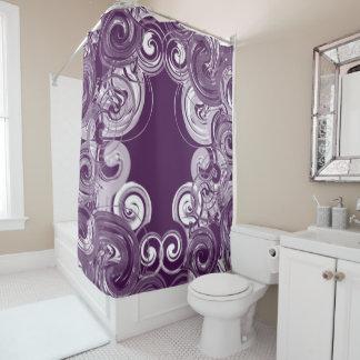 Rolling Purple Digital Art