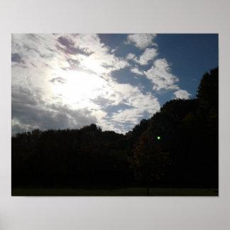 Rolling Skies Poster