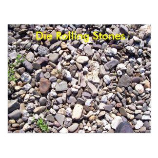 Rolling Stones Postcard
