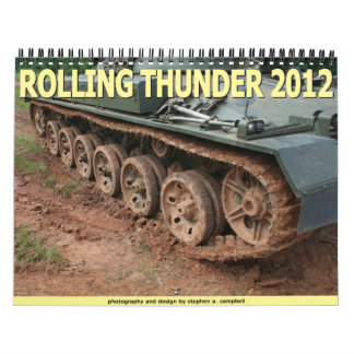 Rolling Thunder 2012 Wall Calendar