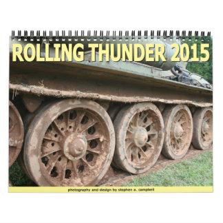 Rolling Thunder 2015 Wall Calendars