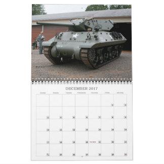 Rolling Thunder 2017 tank calendar