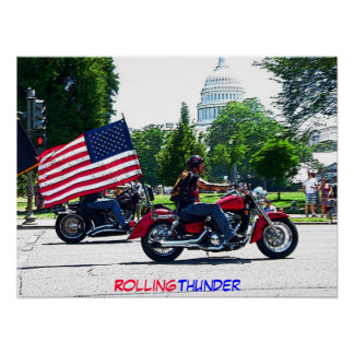 Rolling Thunder in DC poster