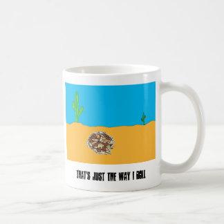 Rolling Tumbleweed Coffee Mug