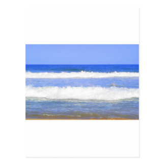 Rolling Waves Postcard
