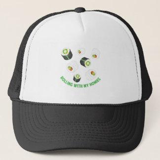 Rolling With Homies Trucker Hat