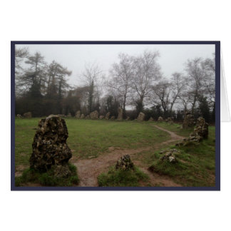Rollright Stones (2) Card
