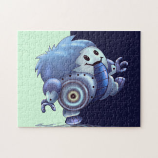 ROLO ROBOT ALIEN CARTOON PUZZLE 11 X 14