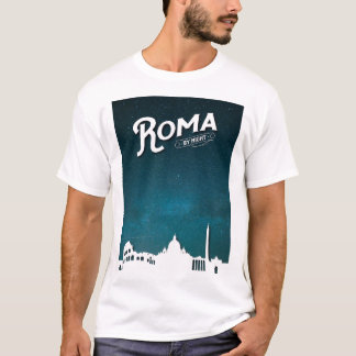 Roma by night - tshirt