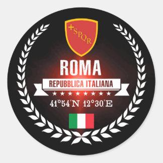 Roma Classic Round Sticker