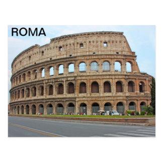 Roma coliseum postcard