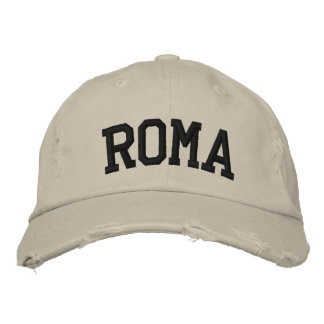 Roma Embroidered Hat