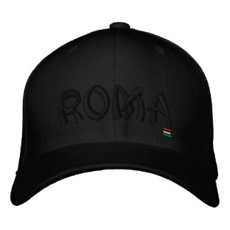 ROMA, EMBROIDERED HAT