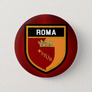 Roma Flag 2 Inch Round Button