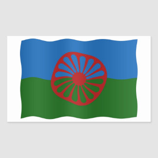 Roma flag sticker