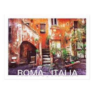 ROMA , ITALIA by MojiAOkubuke Design Postcard