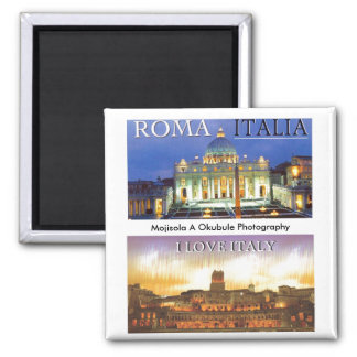 ROMA - ITALIA (Mojisola A Gbadamosi - Okubule ) Magnet