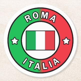 Roma Italia Round Paper Coaster