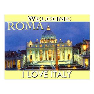 ROMA (OLUBODE GBADAMOSI ) POSTCARD