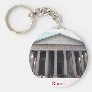 Roma Pantheon Keychain