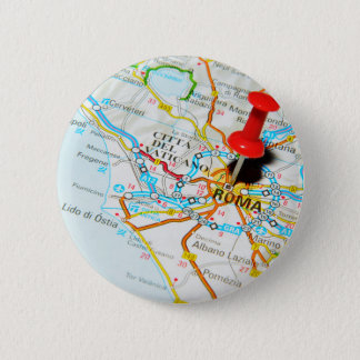Roma (Rome) Italy 2 Inch Round Button
