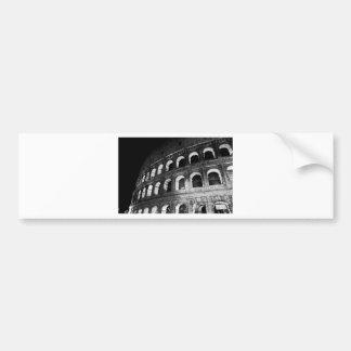 Roma Rome Italy Coliseum Colosseum Bumper Sticker