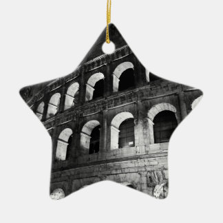 Roma Rome Italy Coliseum Colosseum Ceramic Star Ornament