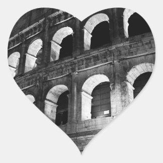 Roma Rome Italy Coliseum Colosseum Heart Sticker