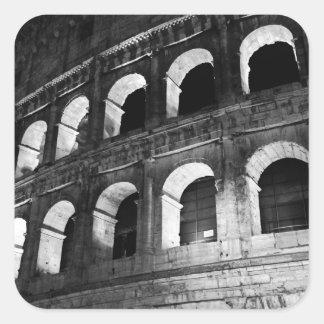 Roma Rome Italy Coliseum Colosseum Square Sticker