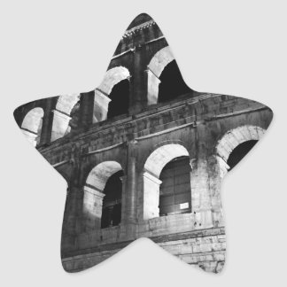 Roma Rome Italy Coliseum Colosseum Star Sticker