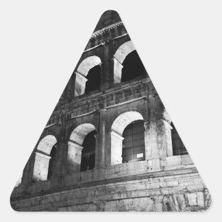 Roma Rome Italy Coliseum Colosseum Triangle Sticker