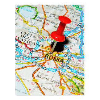 Roma (Rome) Italy Postcard