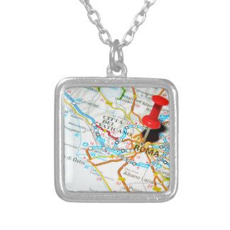 Roma (Rome) Italy Silver Plated Necklace