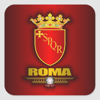 Roma (Rome) Square Sticker