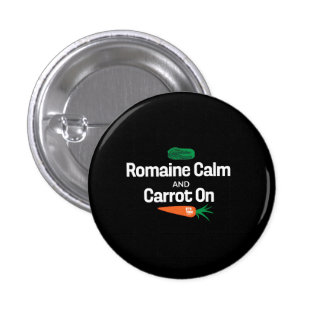 Romaine Calm and Carrot On Small Button
