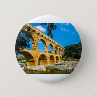 Roman Aquedct 2 Inch Round Button