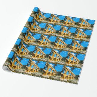 Roman Aquedct Wrapping Paper
