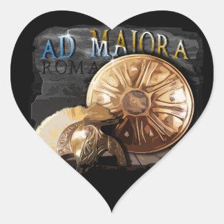 Roman Army - Legionary Heart Sticker