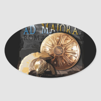 Roman Army - Legionary Oval Sticker
