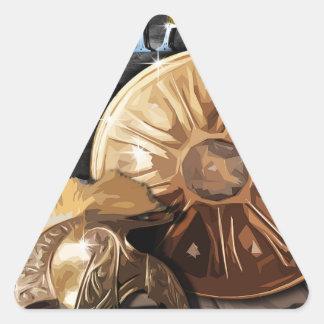 Roman Army - Legionary Triangle Sticker