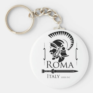 Roman Army - Legionary with Gladio Basic Round Button Keychain